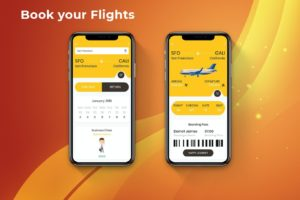 Flight Booking Mobile Ui-min