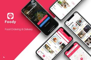 Food Ordering & Delivery UI Kit-1-min