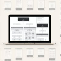 Wireframe Sitemap UX Workflow